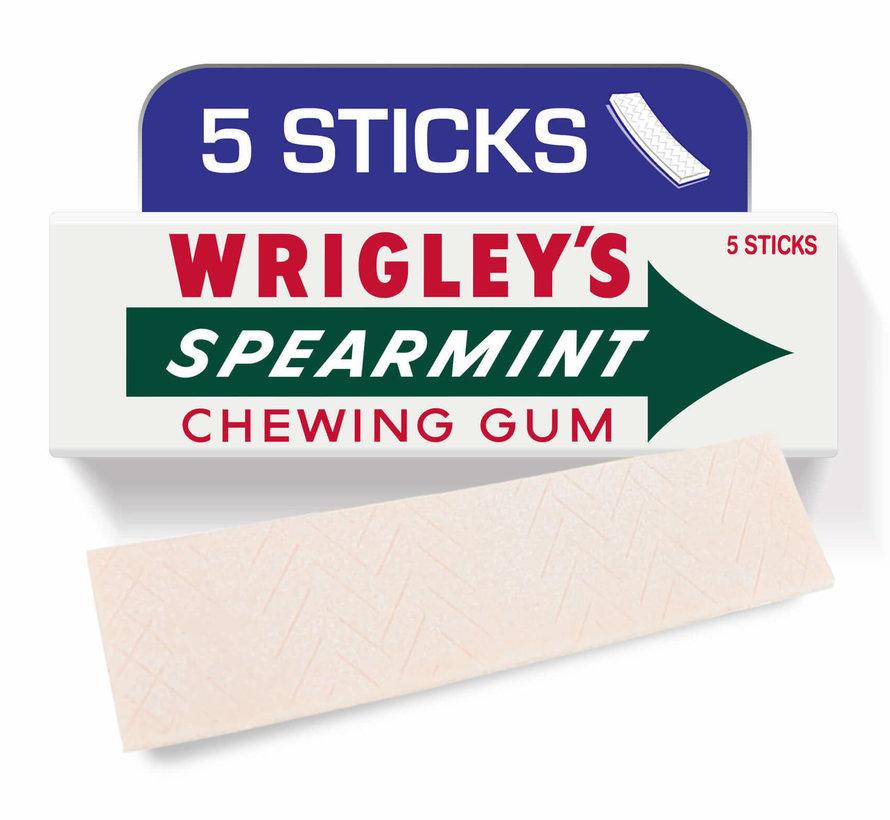 Wrigley'S Spearmint Kauwgom -Pak 8 stuks