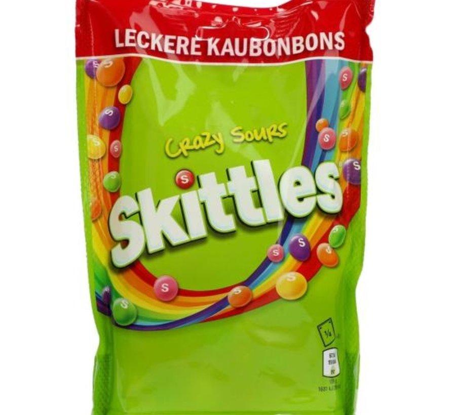 Skittles Crazy Sours -Doos 12x160 gram