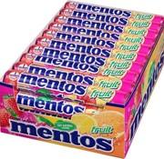 Mentos Fruit -Doos 40 stuks