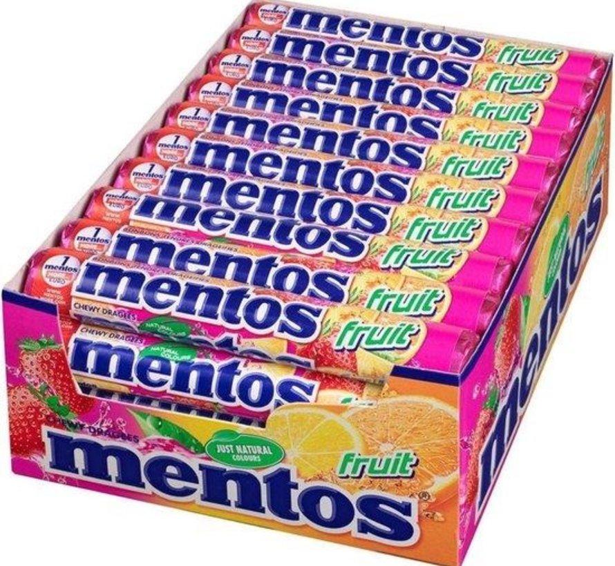 Mentos Rol Fruit -Doos 40 stuks