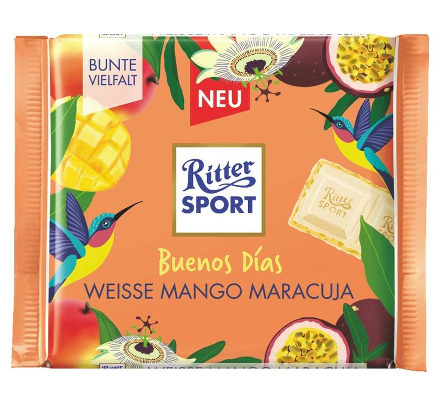 Ritter Sport Buenos Dias Wiesse MAngo Maracuja