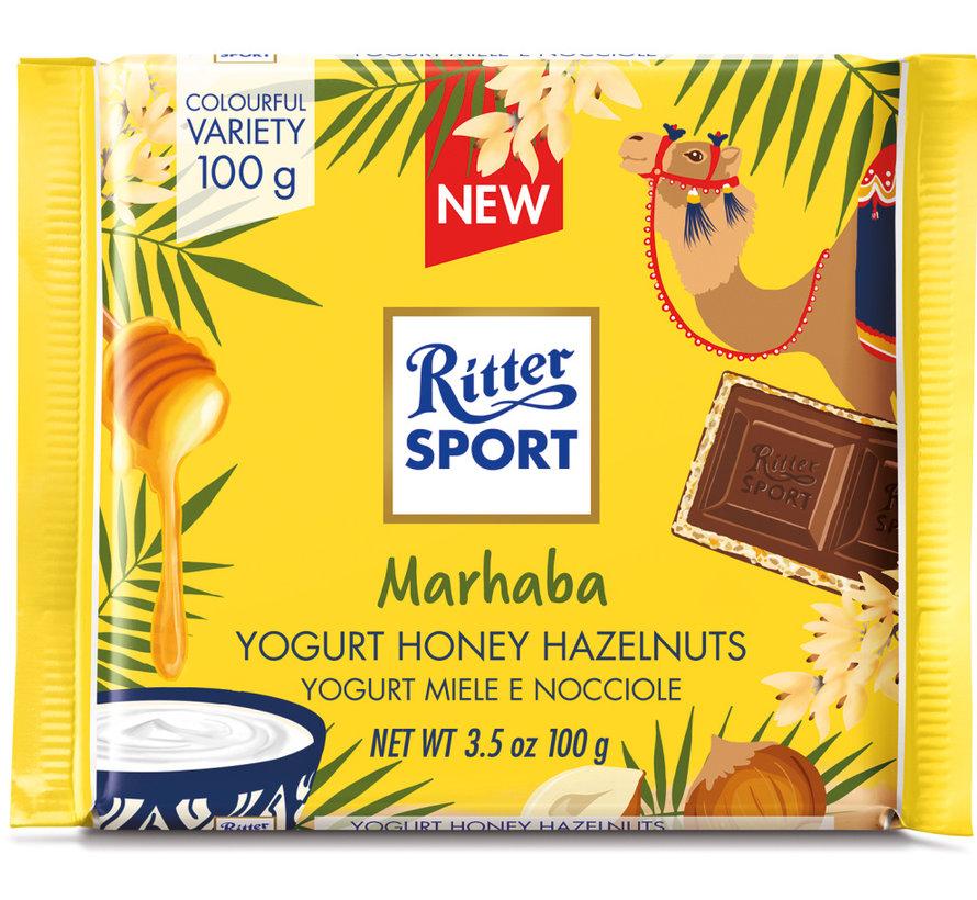 Ritter Sport Marhaba Yoghurt Honing Nuss