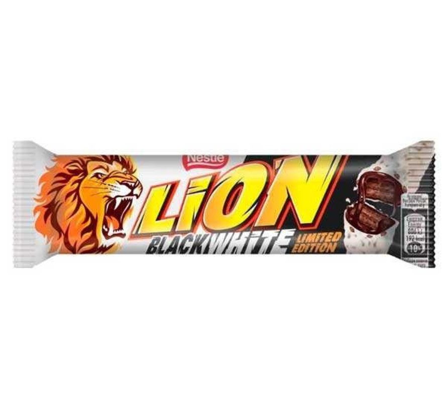 Lion Black White Chocolate Bar