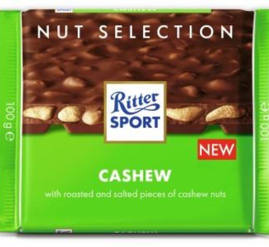RitterSport Cashew -Doos 12 stuks