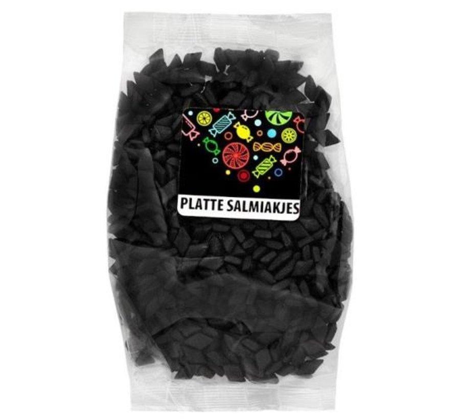 Platte Salmiakjesvoorverpakt 150 gram