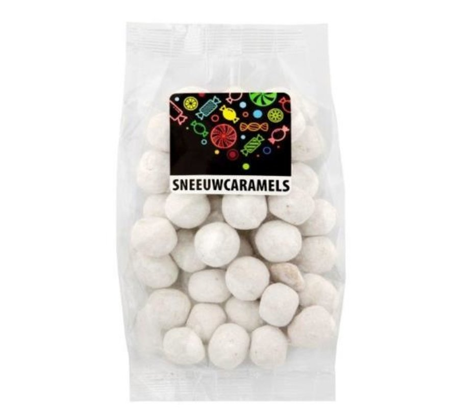 Sneeuwcaramels voorverpakt 150 gram