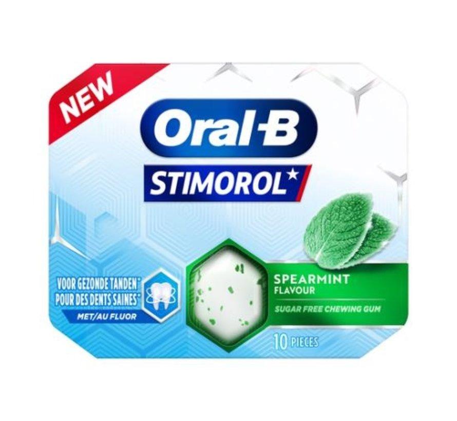 Suikervrije Oral-B Spearmint kauwgom SUIKERVRIJ -Doos 12 stuks