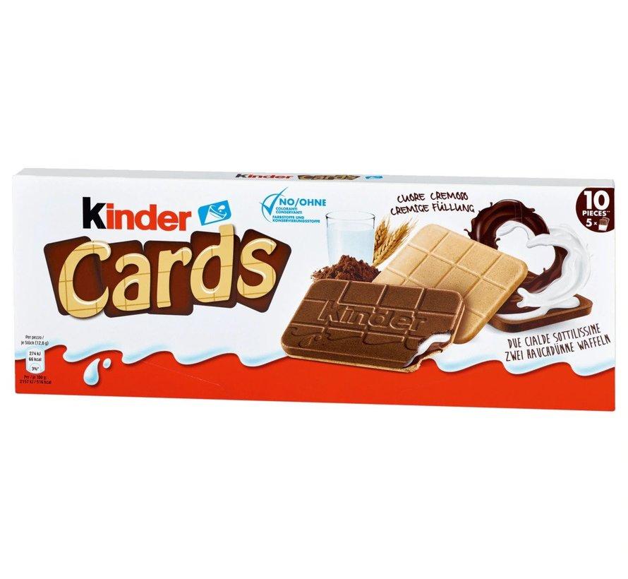 Kinder Cards 5X2 Stuks -Doos 20 Stuks