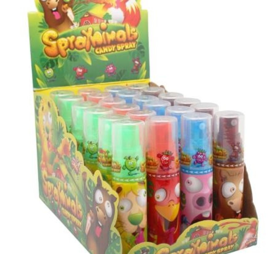 Candy Spray -Doos 24 stuks