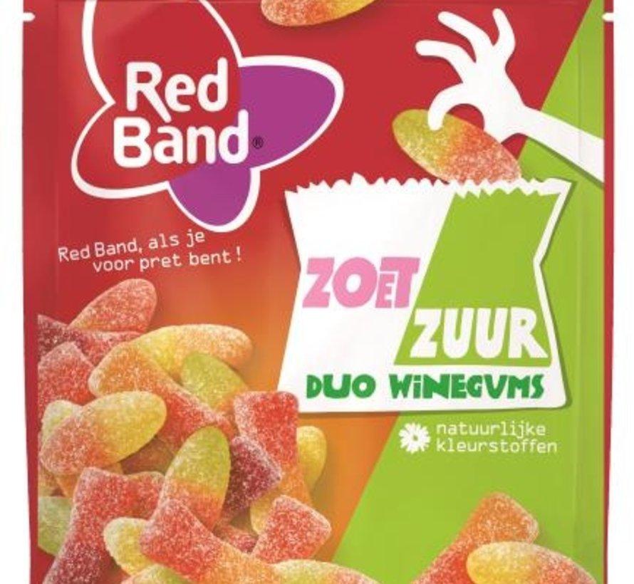 Duo Winegum Zoet/Zuur -Doos 10x190 gram