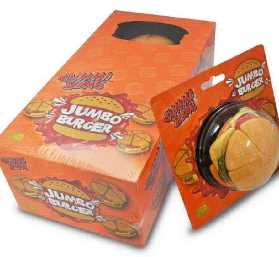 Gummy Zone Jumbo Burgers -Doos 6 Stuks
