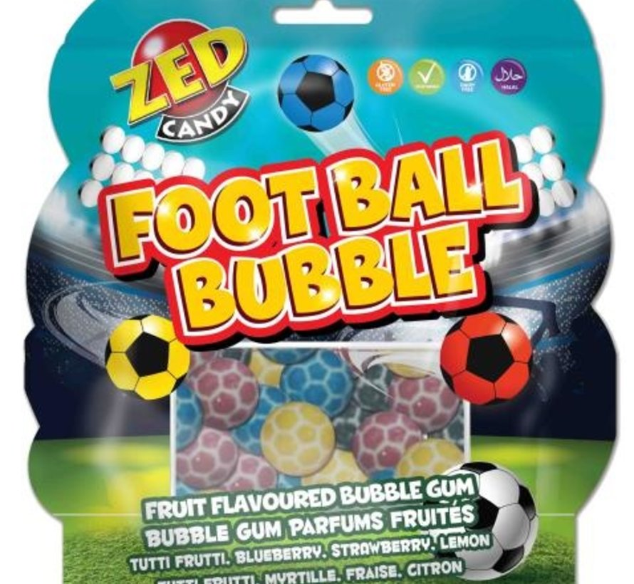Football fruit flavoured bubble gum - zak 12 stuks  Copy