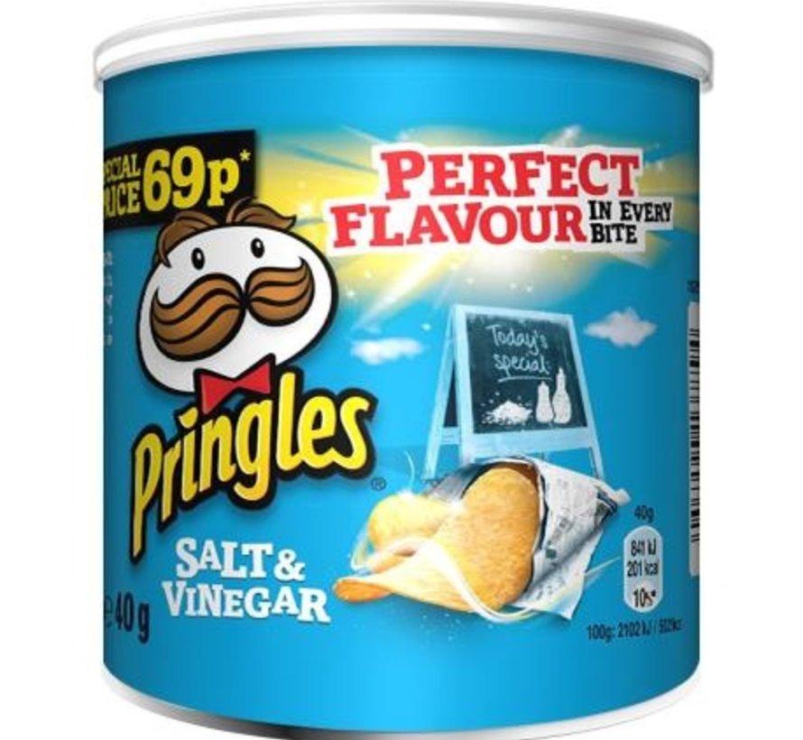 Pringles Salt&Vinegar -Tray 12x40 gram