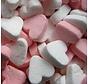 Roze Pepermunt Mini Hartjes 1 Kilo