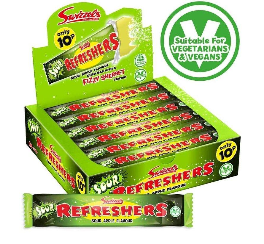 Snap&Crackle refresher Strawberry VEGGIE  -Doos 60 Stuks