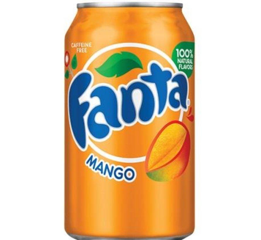 Fanta Mango  -Tray 12 stuks