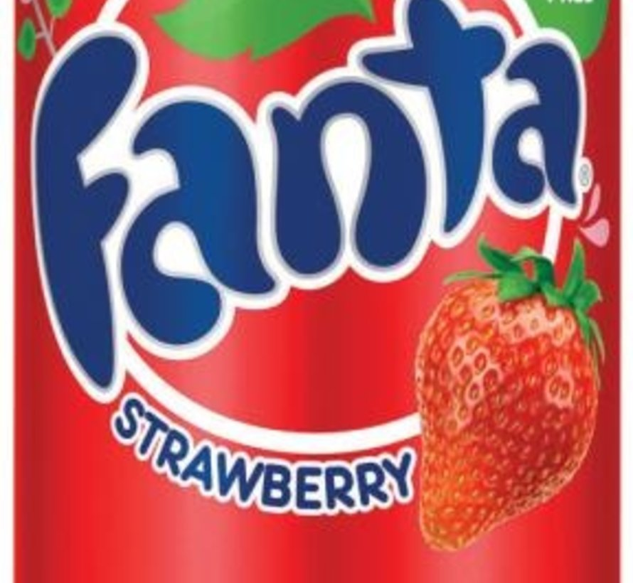 Fanta Strawberry  -Tray 12 stuks