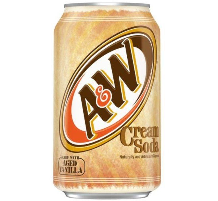 A&W Cream Soda Vanilla -Tray 12 Stuks