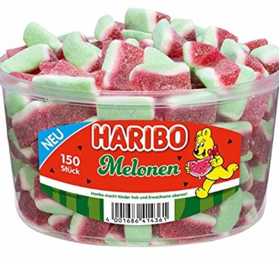 Haribo Wasser Melonen -silo 150 stuks