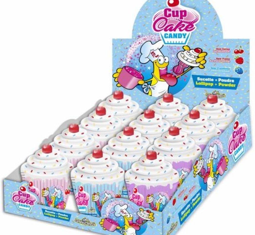 Cup Cake Dip&Lick -Doos 12 stuks