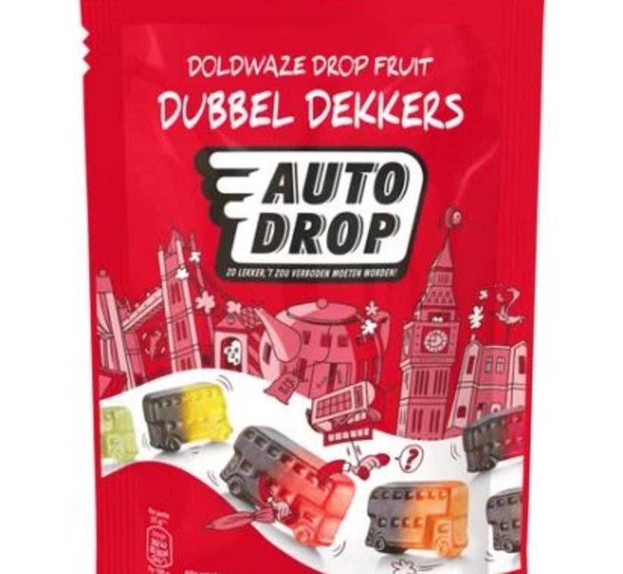 Dubbel Dekkers Autodrop -Doos 15 Stuks