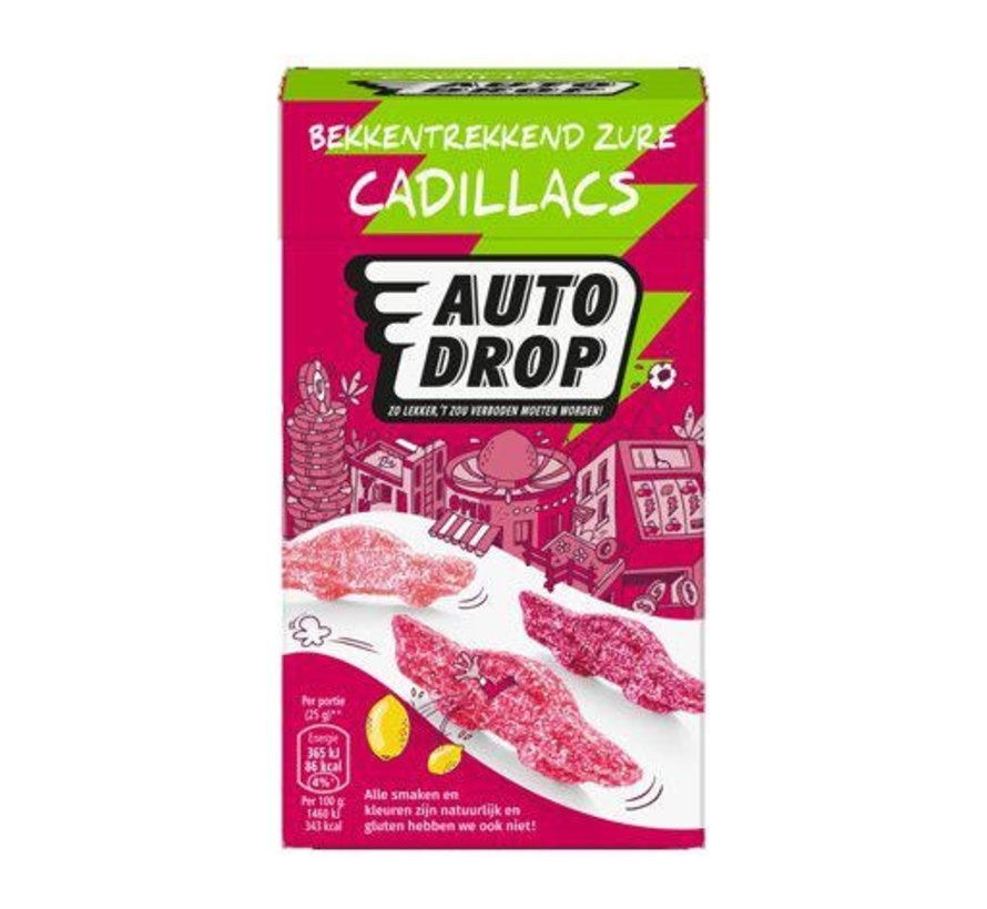 Zure Cadillacs Autodrop -Doos 6 x 270 gram