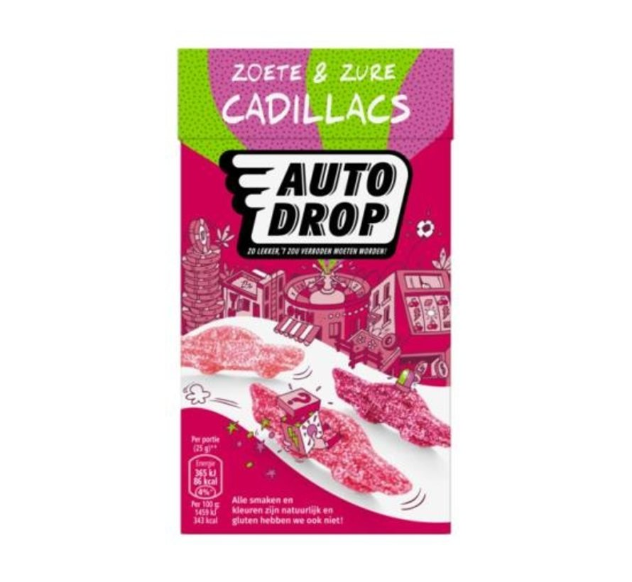 Zoet&Zure Cadiollac -Doos 6x270 gram
