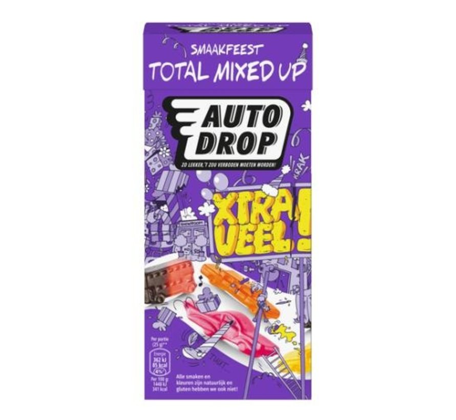 Autodrop Total Mixed Up -Doos 6x380 gram