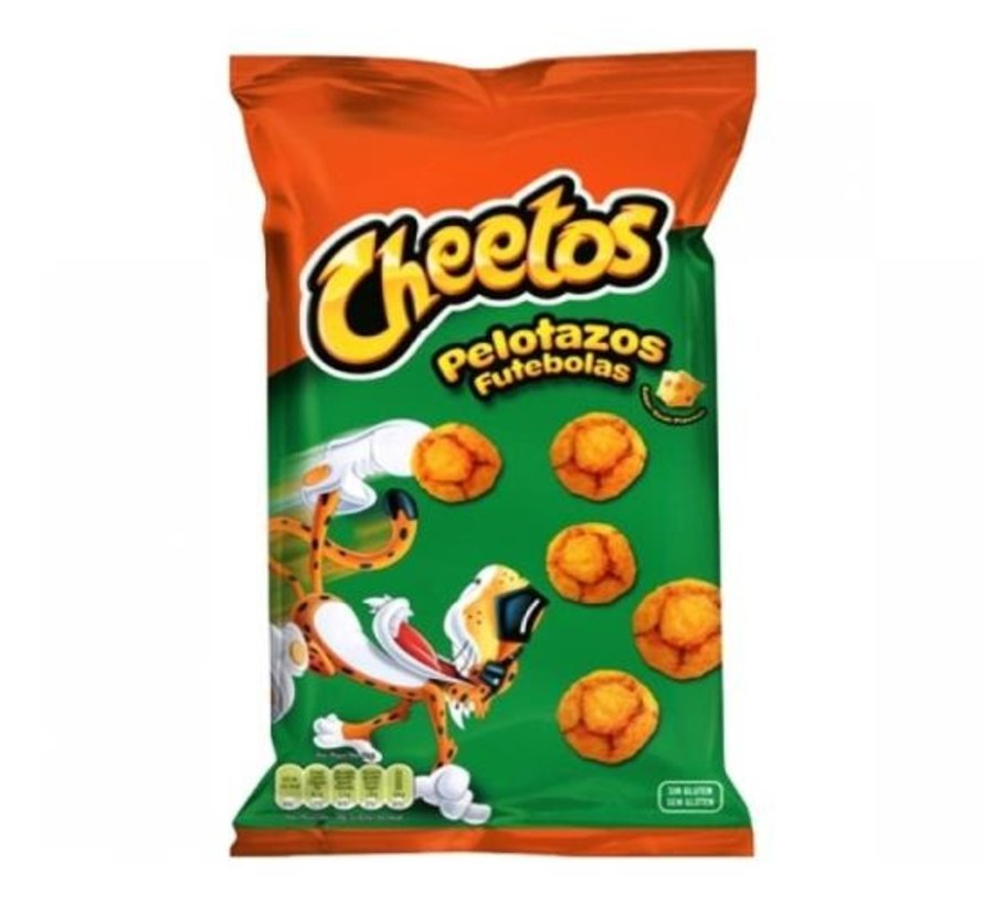 Cheetos Pelotazos Futebo -30 stuks a 130 gram
