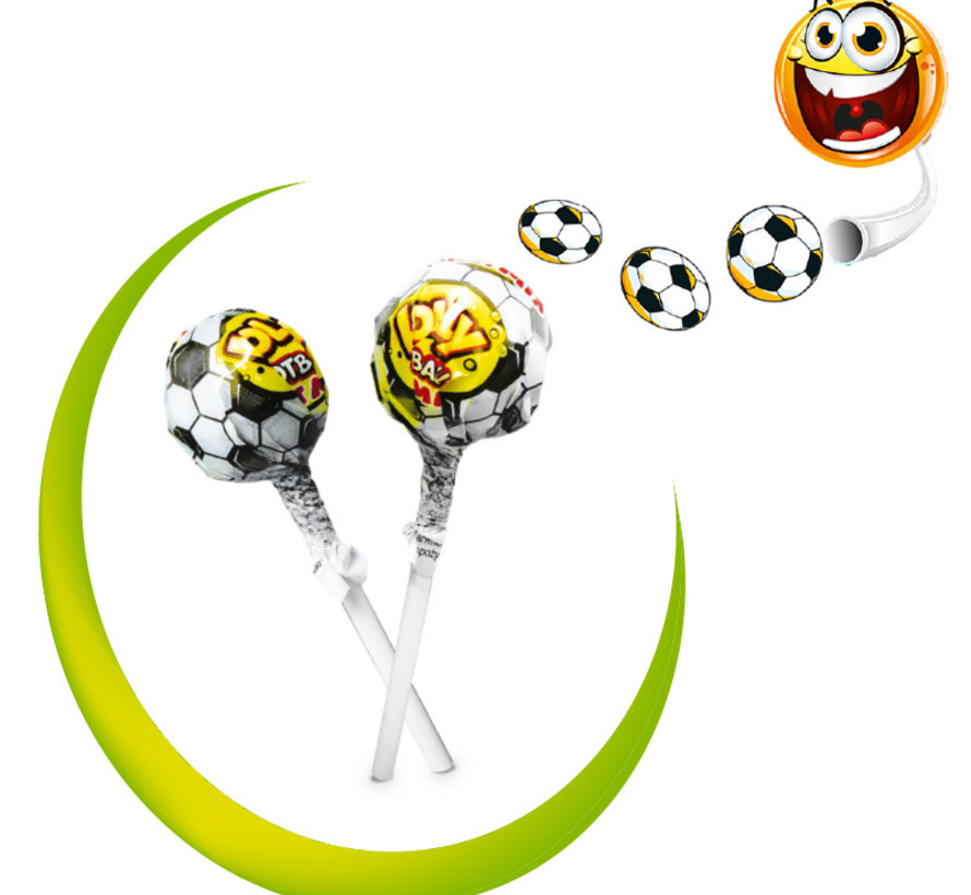 Voetbal Lolly Display