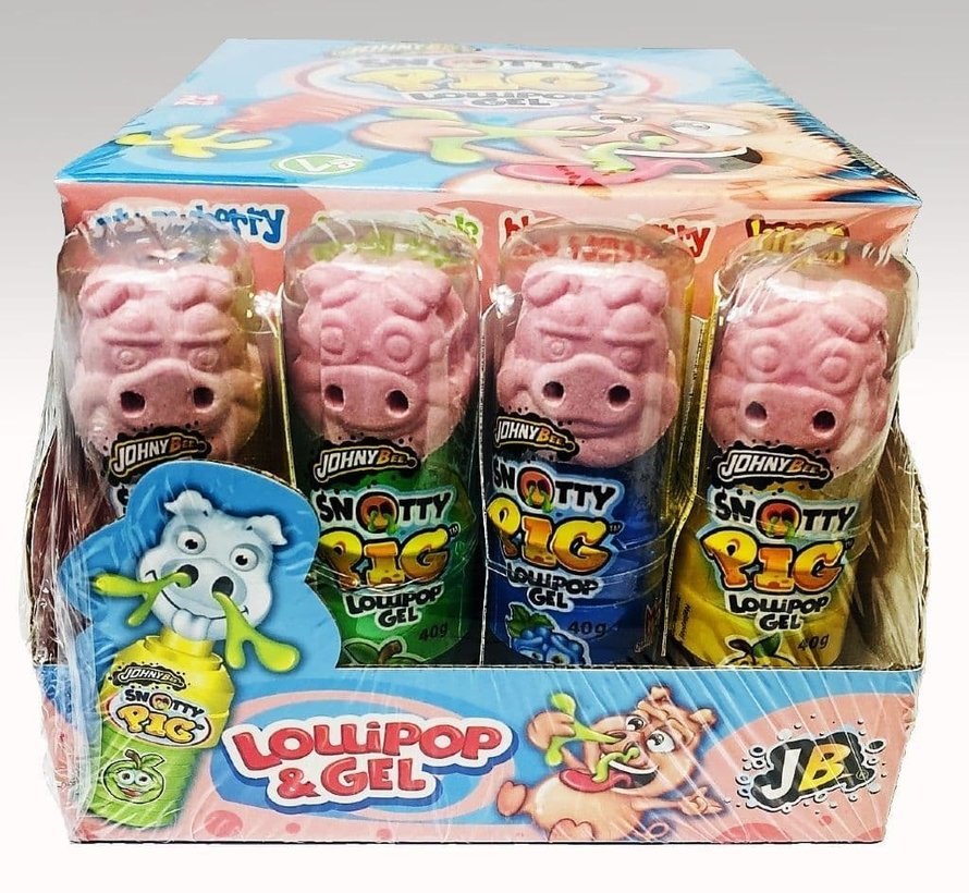 Snotty Pig Lolly & Gel -Doos 24 stuks