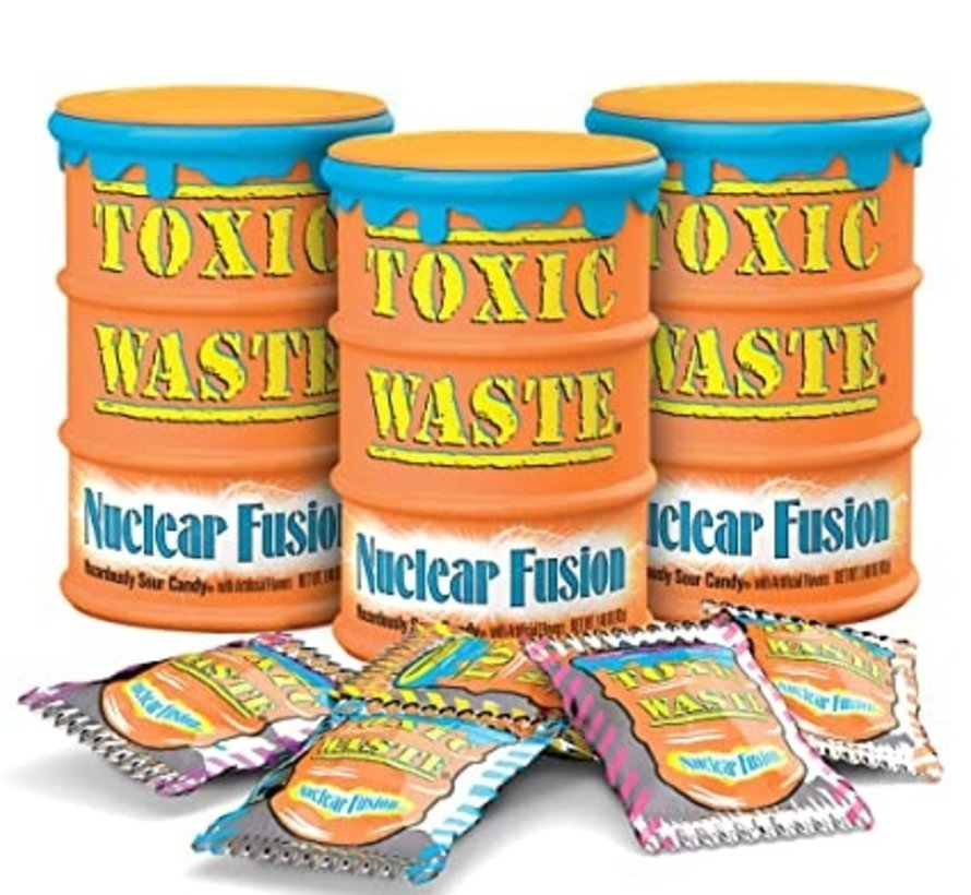 Toxic Waste Drum Oranje Doos 12 stuks