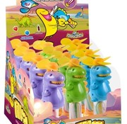 As Dino Fan -Ventilator met lolly -Doos 12 stuks
