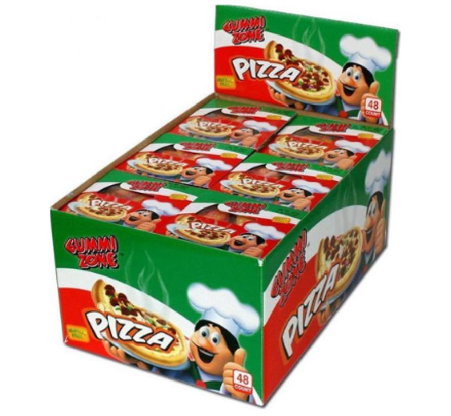 Glutenvrije Gummy Zone Pizza Slices -Doos 48 Stuks