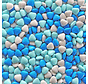 Blauwe Chocolade Dragee Hartjes  - Silo 900 gram