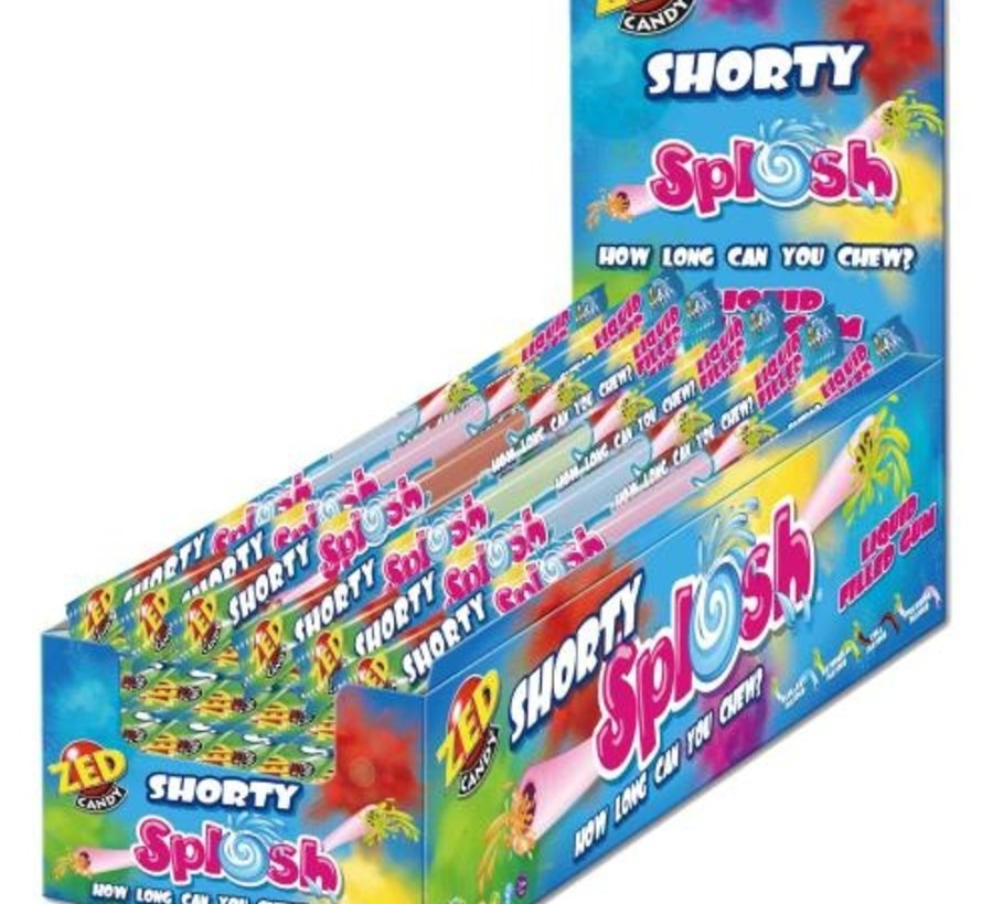 Splosh gum -diverse smaken 30 stuks per doos