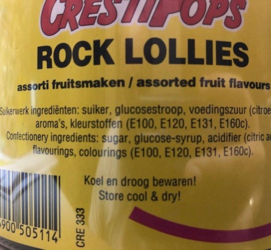 Bloem /Fruit Lollies - Silo 120 stuks
