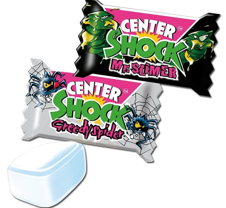 Center Shock Halloween Monster Mix Zure Kauwgom Doos 100 Stuks