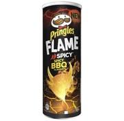 Pingles Pringles Flame Spicy BBQ -Doos 9 stuks
