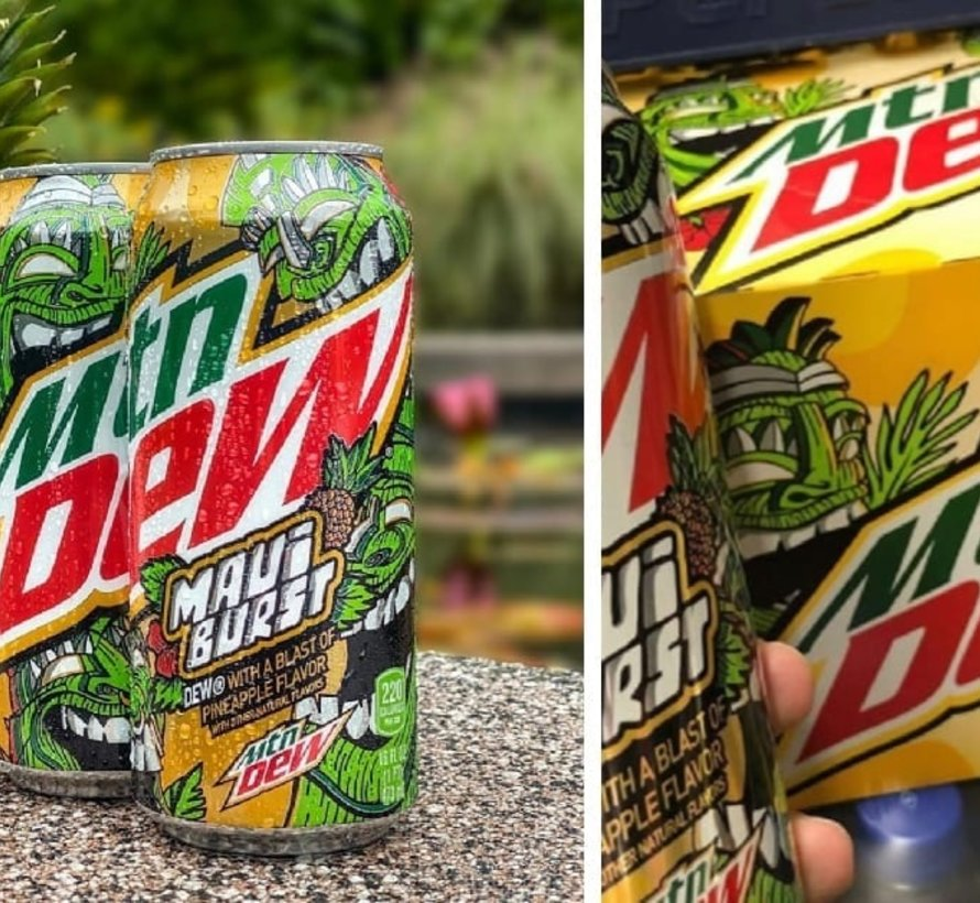 Mountain Dew Maui Burst 473 ml