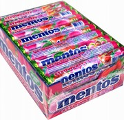 Mentos Mentos Strawberry Mix -Doos 40 stuks