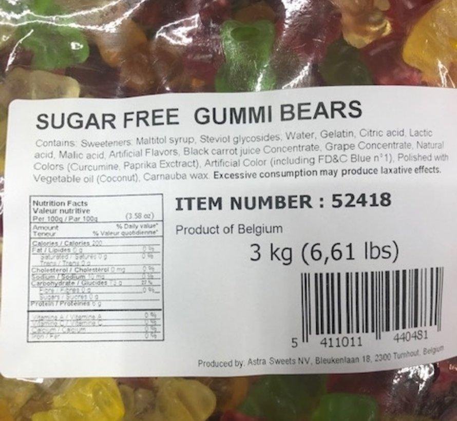 Goudbeertjes SUIKERVRIJ -3 kilo