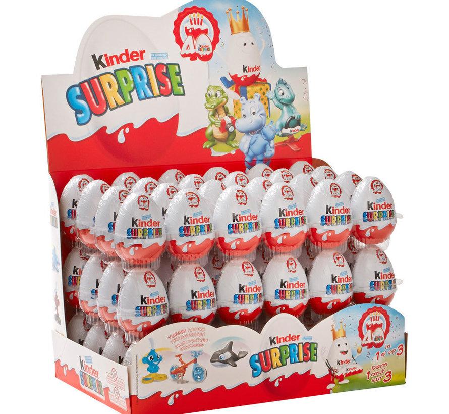Kinder Surprise Ei -Doos 72 Stuks