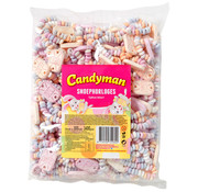 CandyMan Candyman Retro Snoephorloges  Zak 100 Stuks