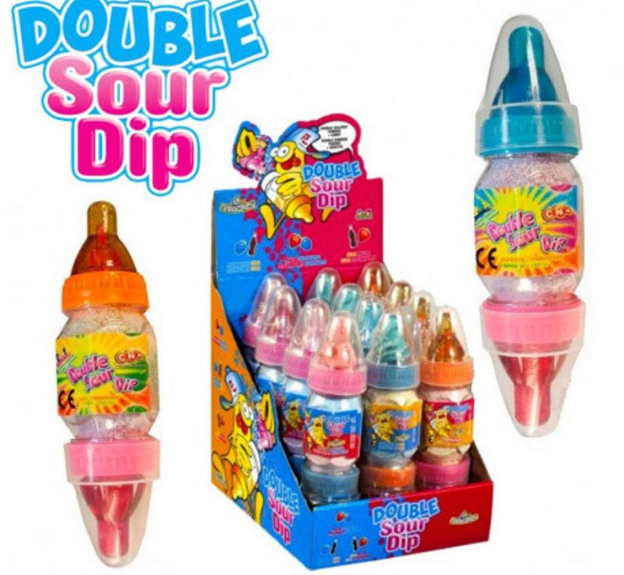 Double Sour Dip -Display 12 stuks