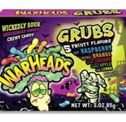 Warheads Warhead Grubs -doosje 85 gram