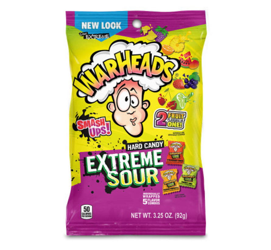 Warheads Smash Ups -zakje 56 gram