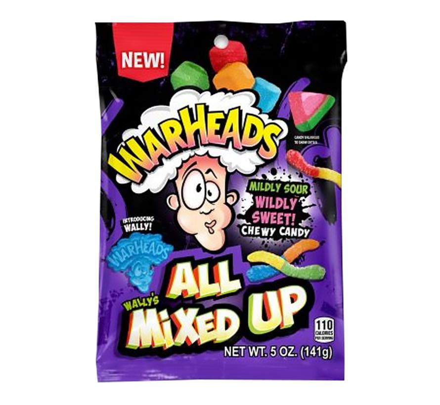 Warheads Wally's All Mixed Up -zakje 141 gram