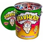 Warheads Pops Bubble Gum Lolly -Metal Tin 230 stuks!