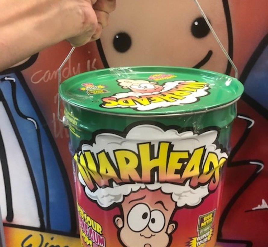 Warheads Bubble Gum Pops - Mega blik 230 stuks!